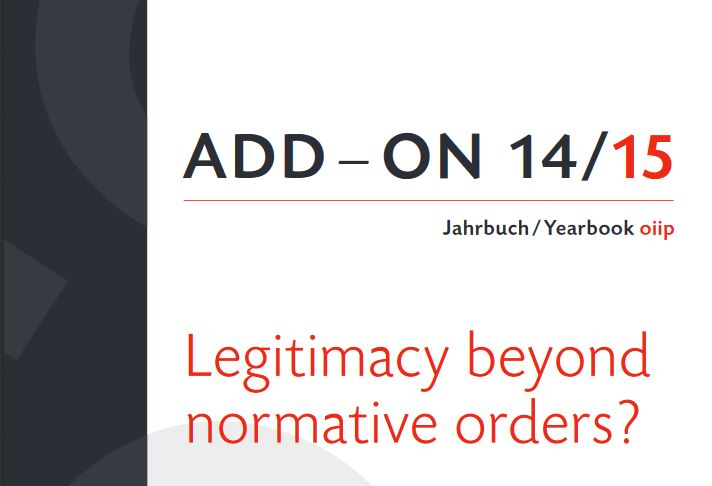 Legitimacy Beyond Normative Orders?