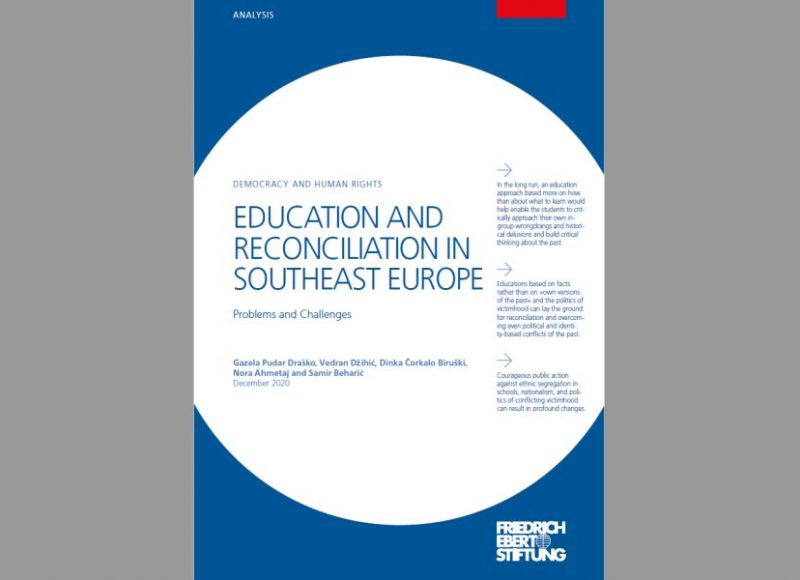 EDUCATION AND RECONCILIATION IN SOUTHEAST EUROPE