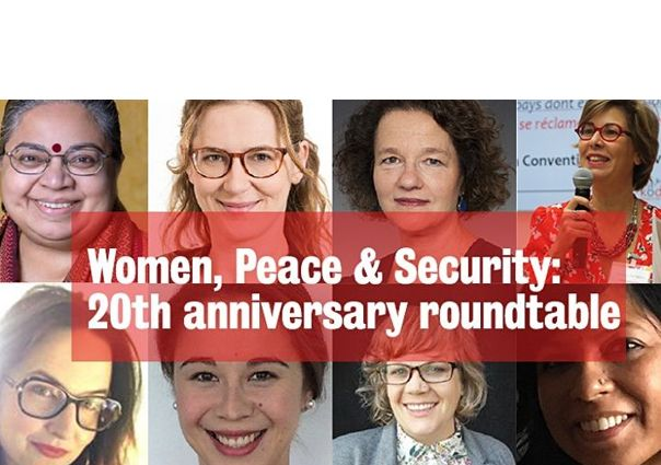 This was the Women in Peace & Security Roundtable
