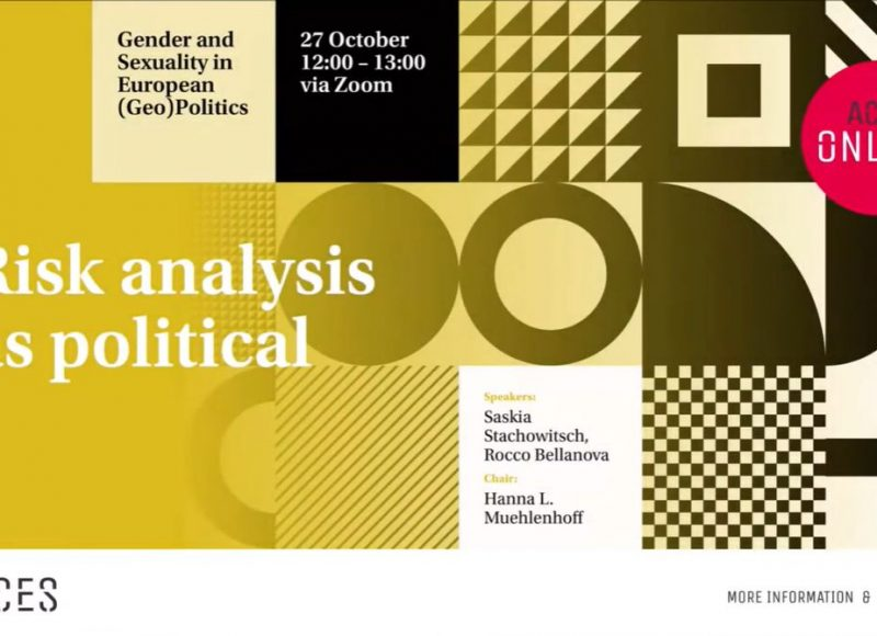 How gender and race matter in the constitution of crisis in EU border management