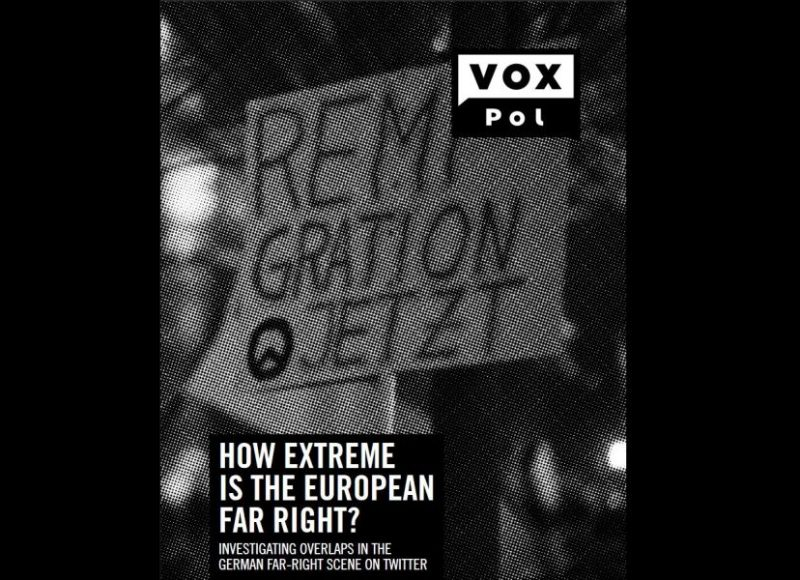 How extreme is the European far right? Investigating overlaps in the German far-right scene on twitter